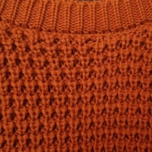 Forever 21 Sweaters - Burnt Orange Knit Sweater 2X